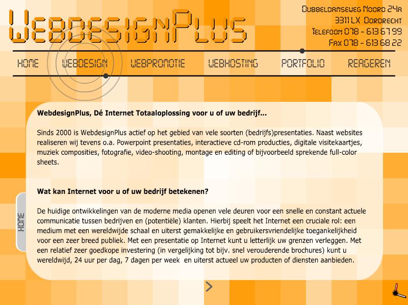 WebdesignPlus – 2001