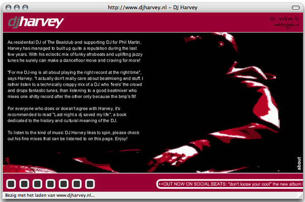 2001 - Deejay Harvey