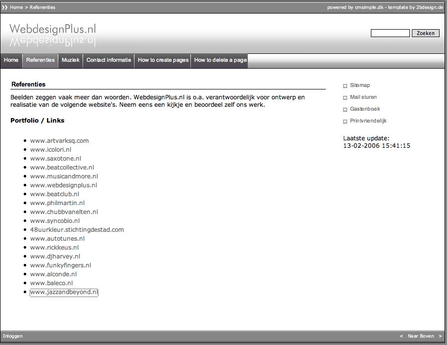 WebdesignPlus – 2006