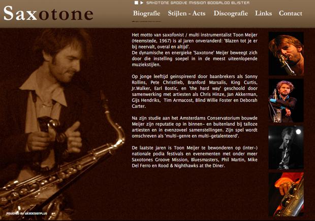 2007 - Saxotone Meijer