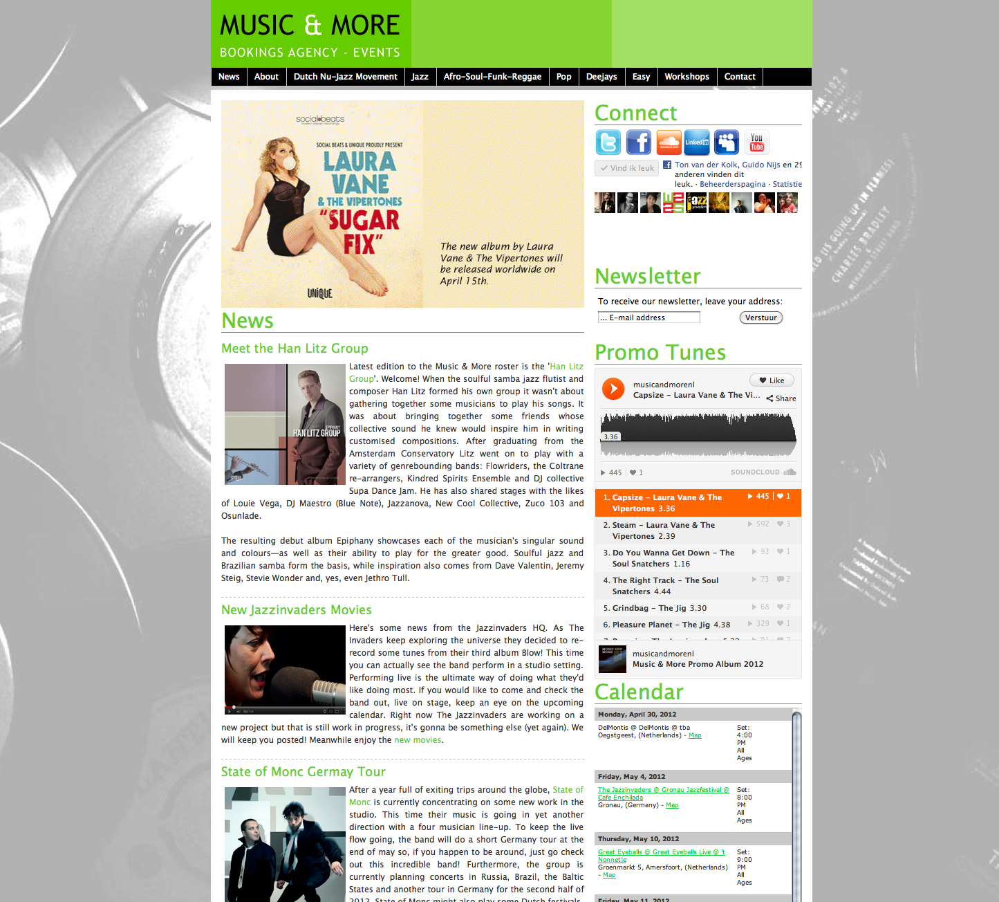 2010 - Music & More Bookings Agency