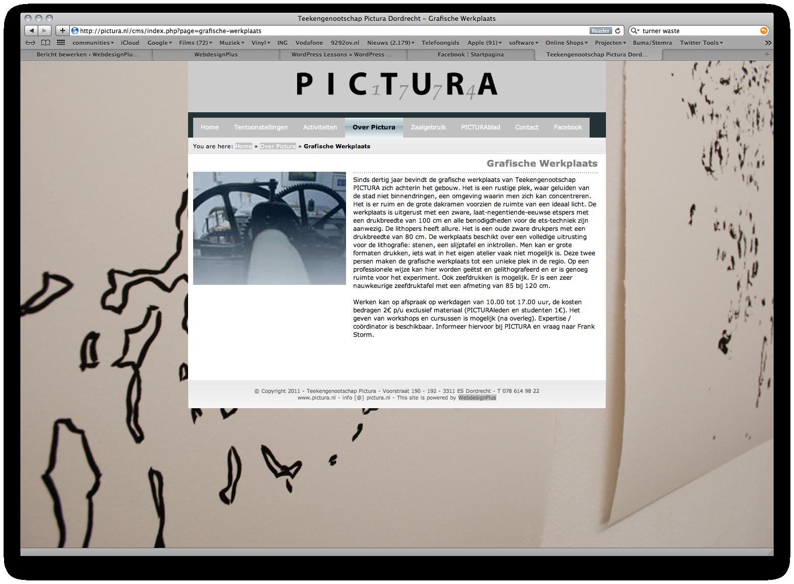 2011 - Teekengenootschap Pictura