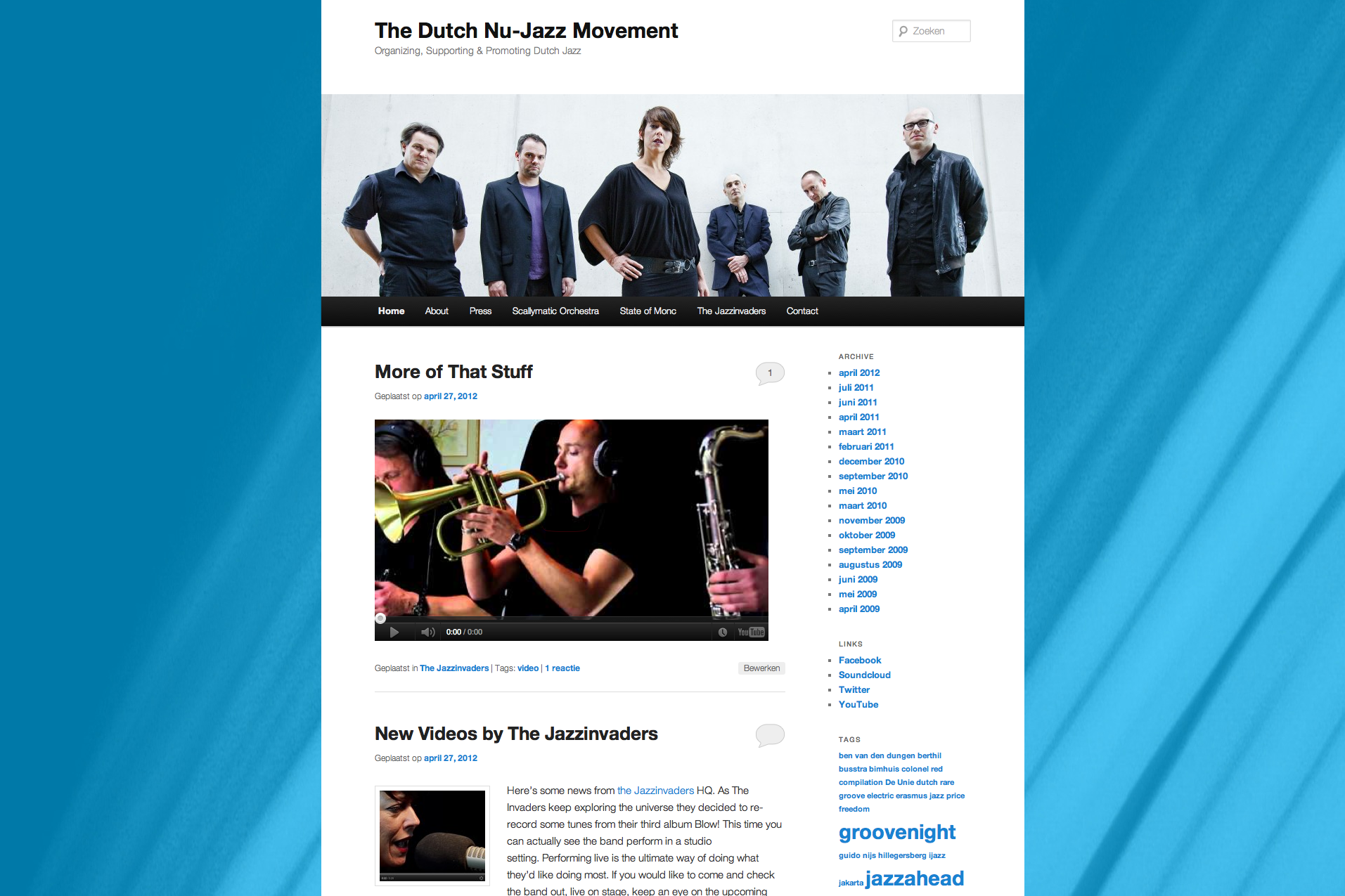 Dutch Nu-Jazz Movement – 2012