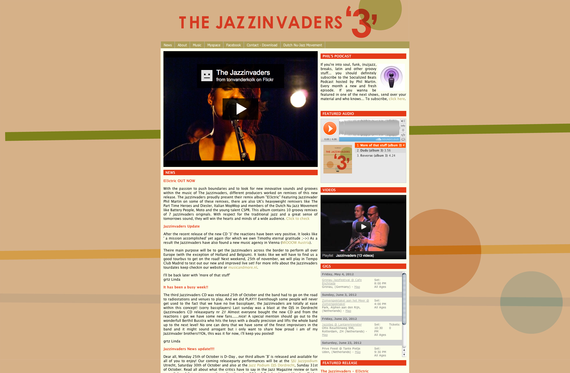 The Jazzinvaders – 2009
