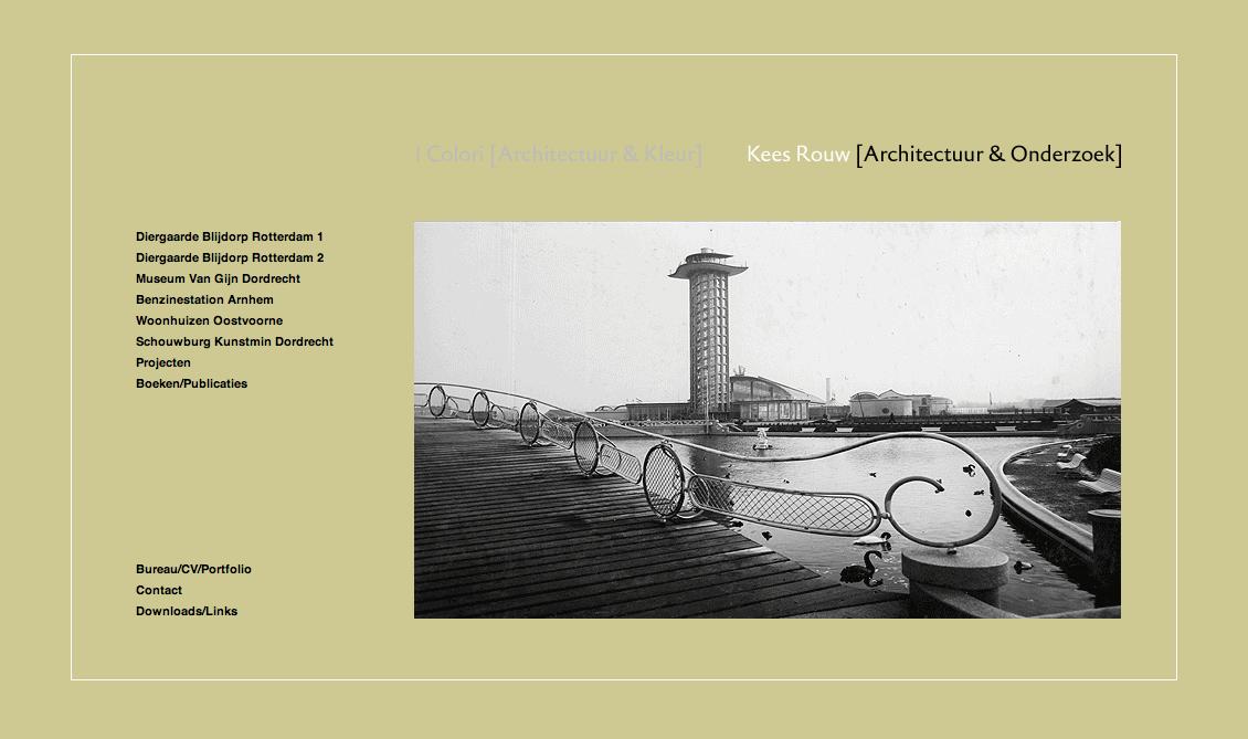 2012 - Kees Rouw Architectuur