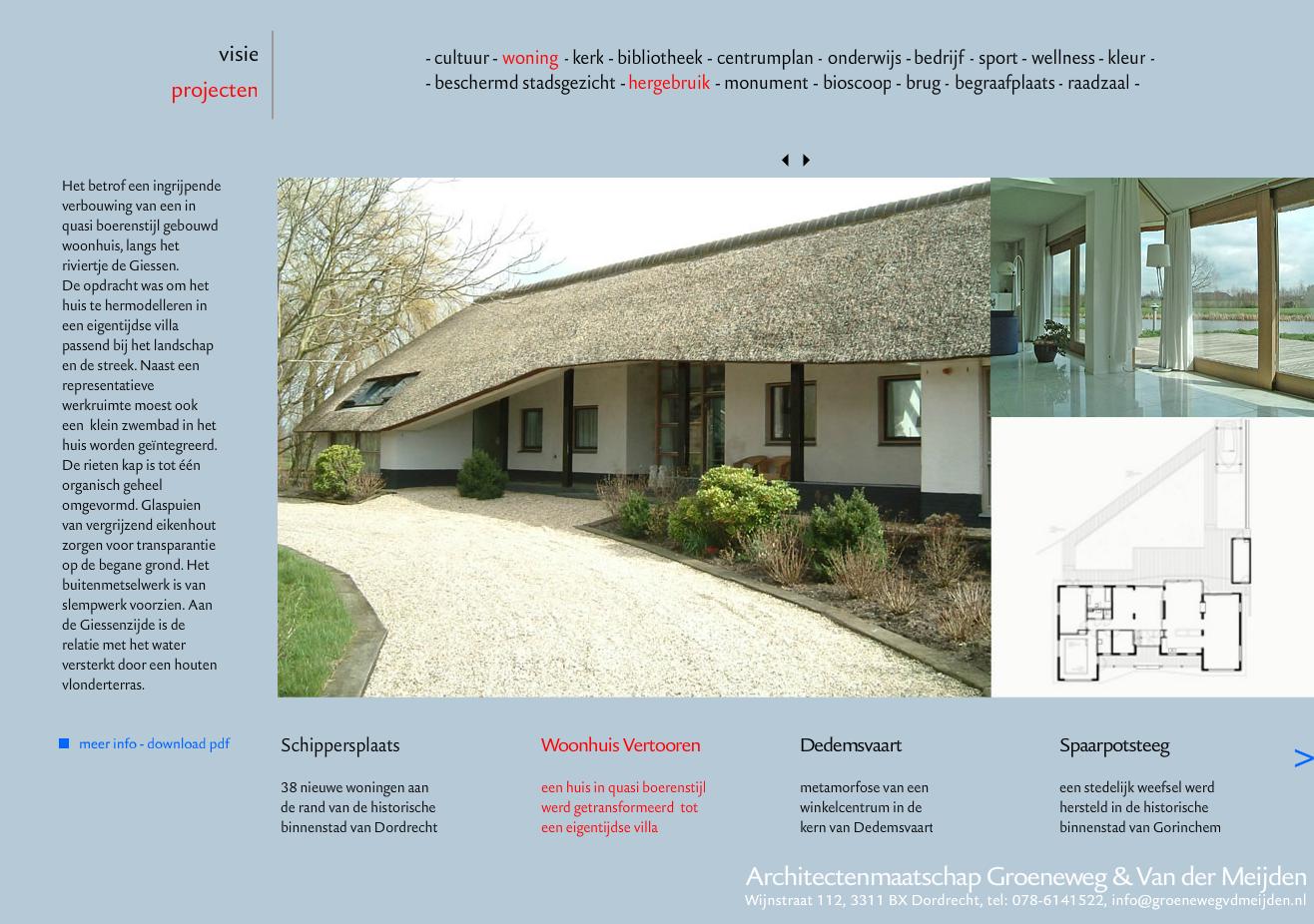 2009 - Groeneweg & vd Meijden Architecten