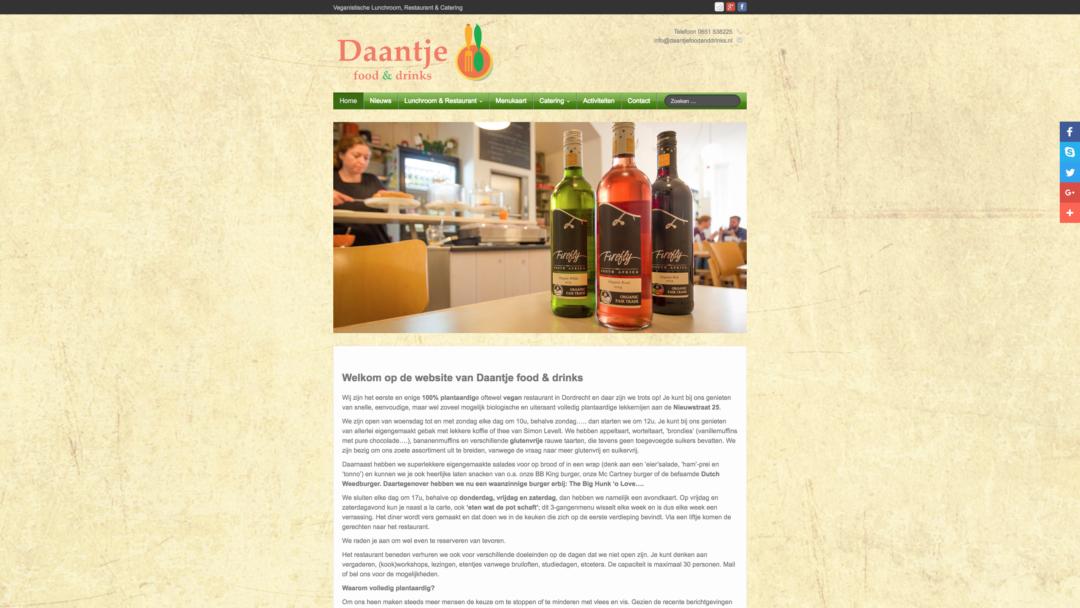 Daantje Food & Drinks – 2015