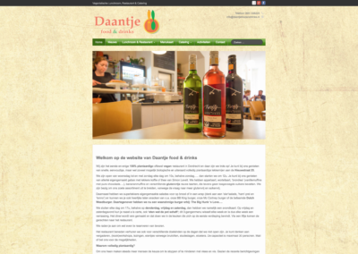 Daantje Food & Drinks 2015