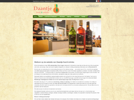 Daantje Food & Drinks – 2015