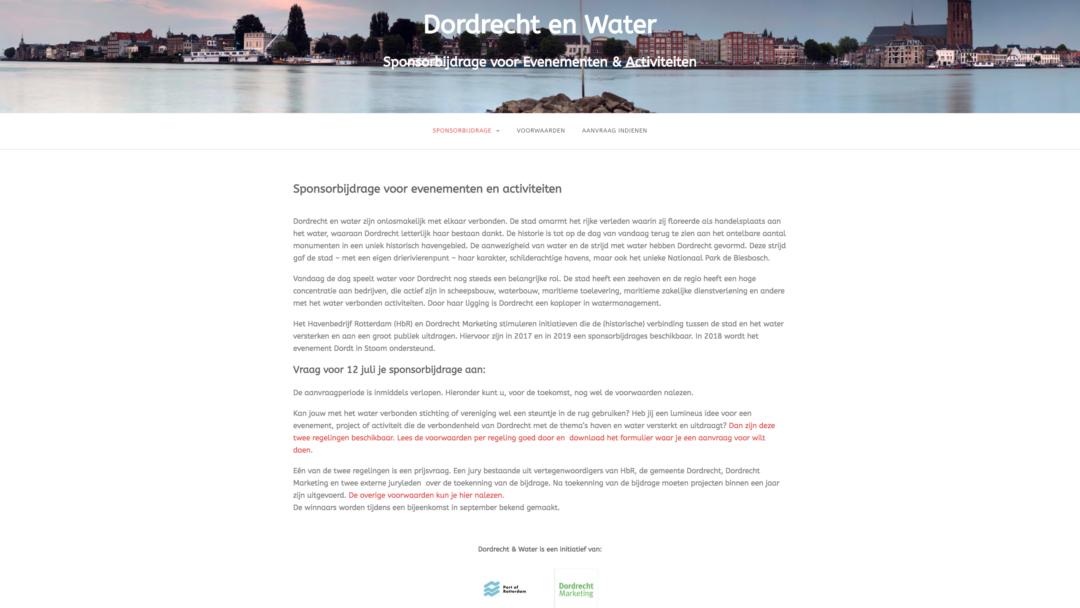 Dordrecht & Water – 2017