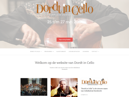 Dordt in Cello – 2017