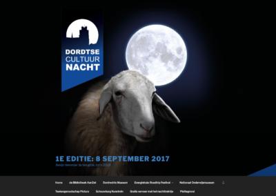 Dordtse Cultuurnacht - 2017 - WebdesignPlus