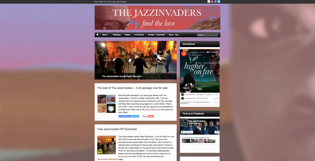 The Jazzinvaders – 2016
