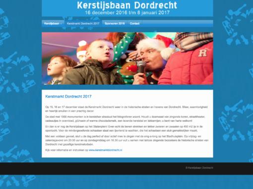 Kerstijsbaan Dordrecht – 2016
