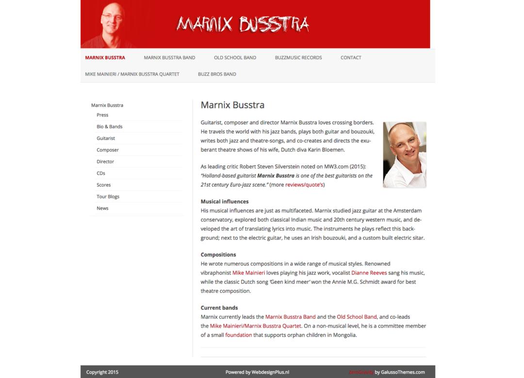 Marnix Busstra – Buzz Music – 2015