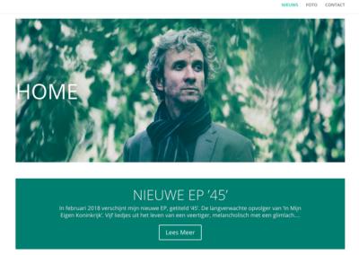 2018 - Website Eric van Dijsseldonk